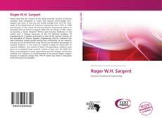 Roger W.H. Sargent的封面