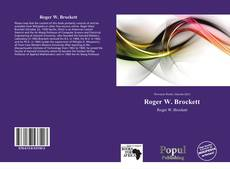 Bookcover of Roger W. Brockett
