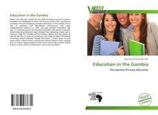 Buchcover von Education in the Gambia