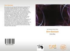 Buchcover von Ann Davison