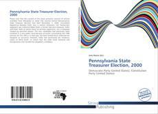 Обложка Pennsylvania State Treasurer Election, 2000