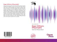Bookcover of Roger Williams (Playwright)