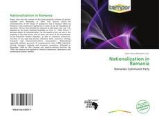 Capa do livro de Nationalization in Romania