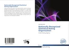 Nationally Recognized Statistical Rating Organization kitap kapağı