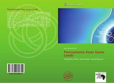 Bookcover of Pennsylvania State Game Lands