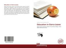 Bookcover of Education in Sierra Leone