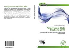 Bookcover of Pennsylvania State Elections, 2009