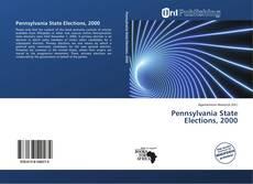 Обложка Pennsylvania State Elections, 2000