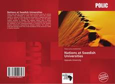 Copertina di Nations at Swedish Universities