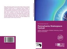 Capa do livro de Pennsylvania Shakespeare Festival
