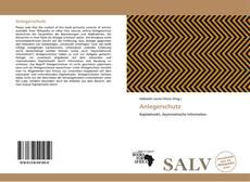 Portada del libro de Anlegerschutz