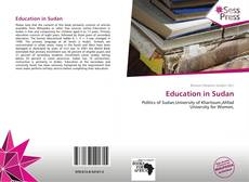 Bookcover of Education in Sudan