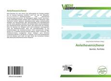 Capa do livro de Anleiheversicherer