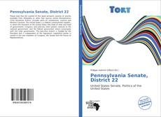 Bookcover of Pennsylvania Senate, District 22