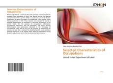 Selected Characteristics of Occupations kitap kapağı