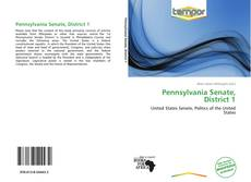 Buchcover von Pennsylvania Senate, District 1