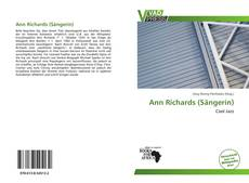 Capa do livro de Ann Richards (Sängerin)
