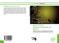 Bookcover of Catholic University of Korea