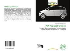 PSA Peugeot Citroën kitap kapağı