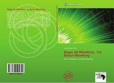 Bookcover of Roger de Mowbray, 1st Baron Mowbray