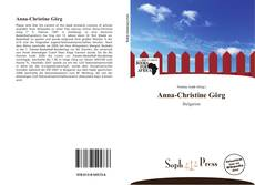 Bookcover of Anna-Christine Görg