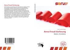Portada del libro de Anna-Freud-Vorlesung
