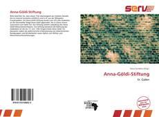 Bookcover of Anna-Göldi-Stiftung