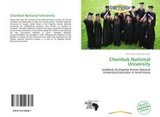 Bookcover of Chonbuk National University