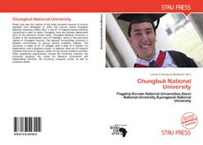 Buchcover von Chungbuk National University