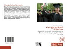 Bookcover of Chungju National University