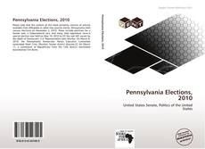 Bookcover of Pennsylvania Elections, 2010