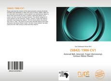 Bookcover of (5842) 1986 CV1