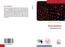Buchcover von Anna Badora