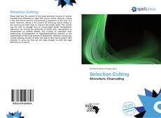 Bookcover of Selection Cutting