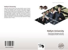 Bookcover of Hallym University