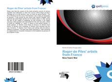 Обложка Roger de Piles' artists from France