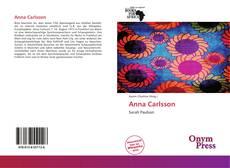 Anna Carlsson的封面
