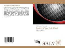 Bookcover of Rogers Heritage High School