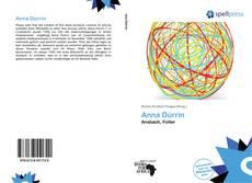 Portada del libro de Anna Dürrin