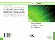 Couverture de Anna Felice Viti