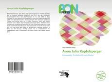 Bookcover of Anna Julia Kapfelsperger
