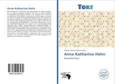 Portada del libro de Anna Katharina Hahn