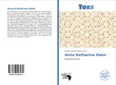 Обложка Anna Katharina Hahn