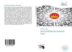 Portada del libro de Anna Katharina Schmid