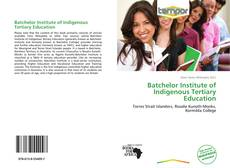 Buchcover von Batchelor Institute of Indigenous Tertiary Education