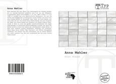 Portada del libro de Anna Mahler