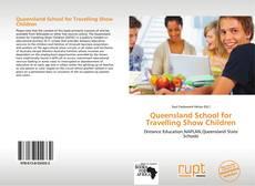 Bookcover of Queensland School for Travelling Show Children