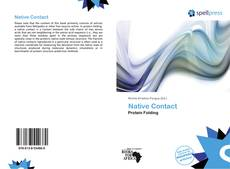 Native Contact kitap kapağı