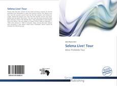 Portada del libro de Selena Live! Tour