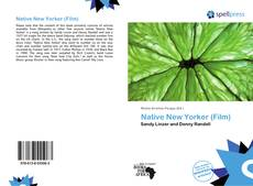 Bookcover of Native New Yorker (Film)